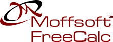 Moffsoft FreeCalc - tape calculator software