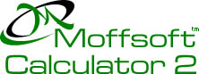 Moffsoft Calculator 2 - powerful calculator software